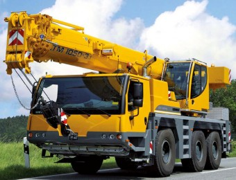 Автокран 50 тонн  liebherr