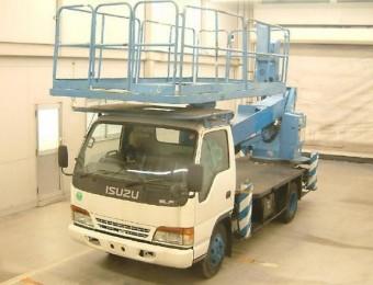 Автовышка с большой корзиной 17 метров