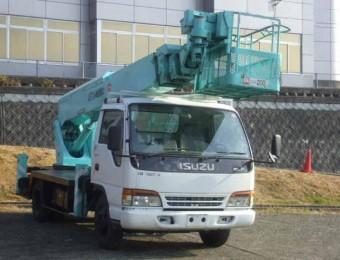 Автовышка на базе ISUZU ELF 14 метров